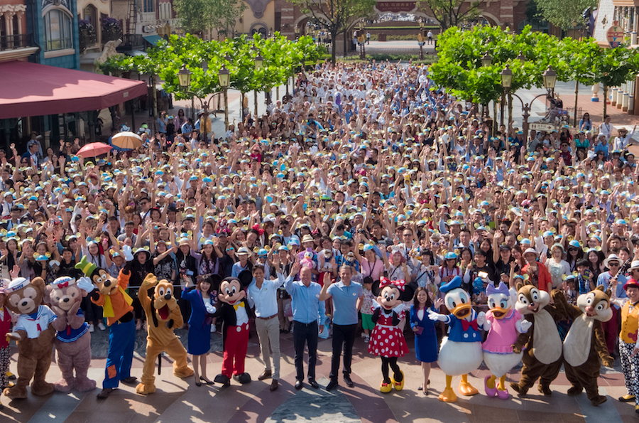 Shanghai Disney Resort Hosts Spectacular One Year Anniversary Celebration With Guests From Across China