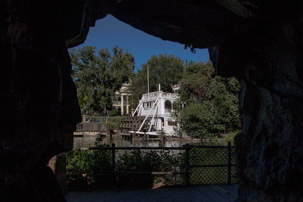 A Walk in the Park: Pirate's Lair on Tom Sawyer Island at Disneyland Park