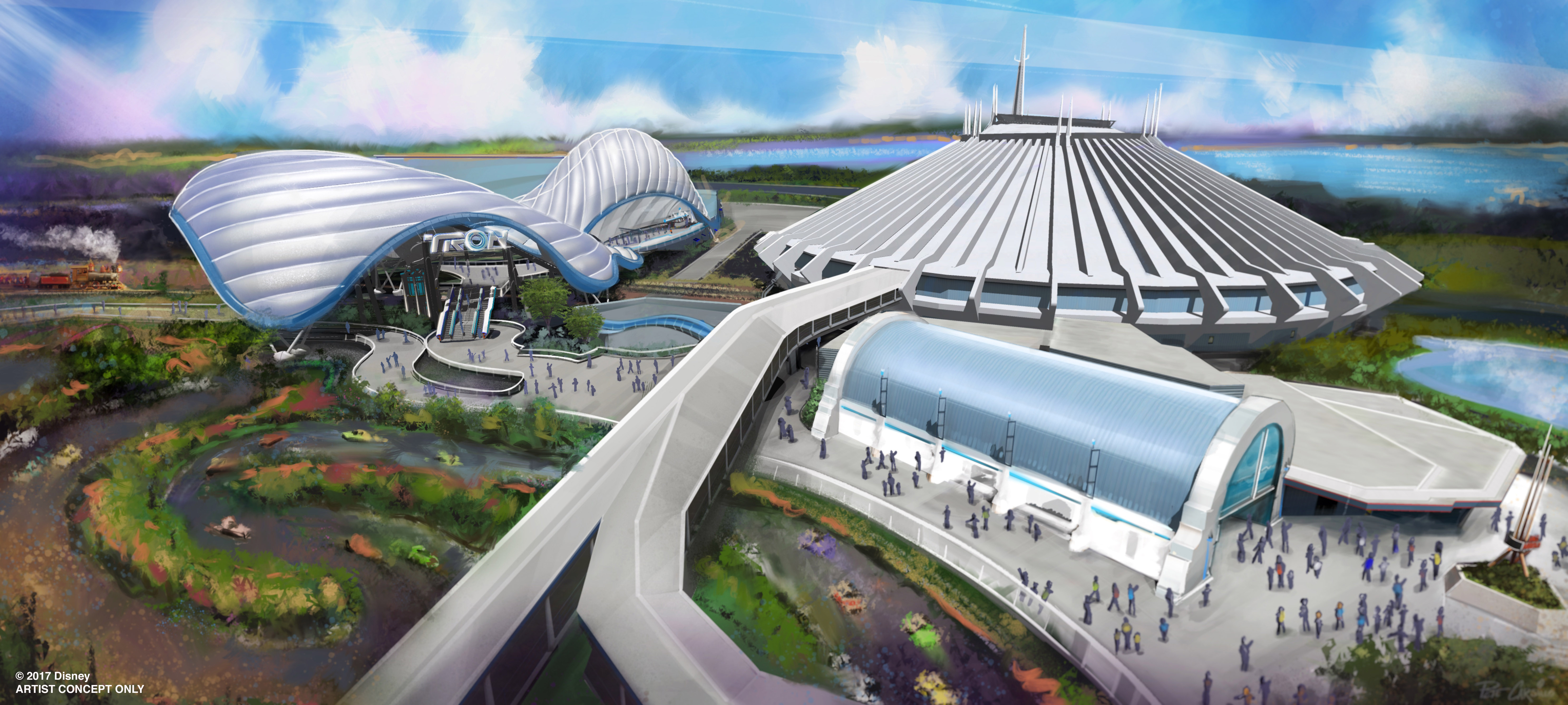 New Tron Attraction Coming to Magic Kingdom Park at Walt Disney World Resort