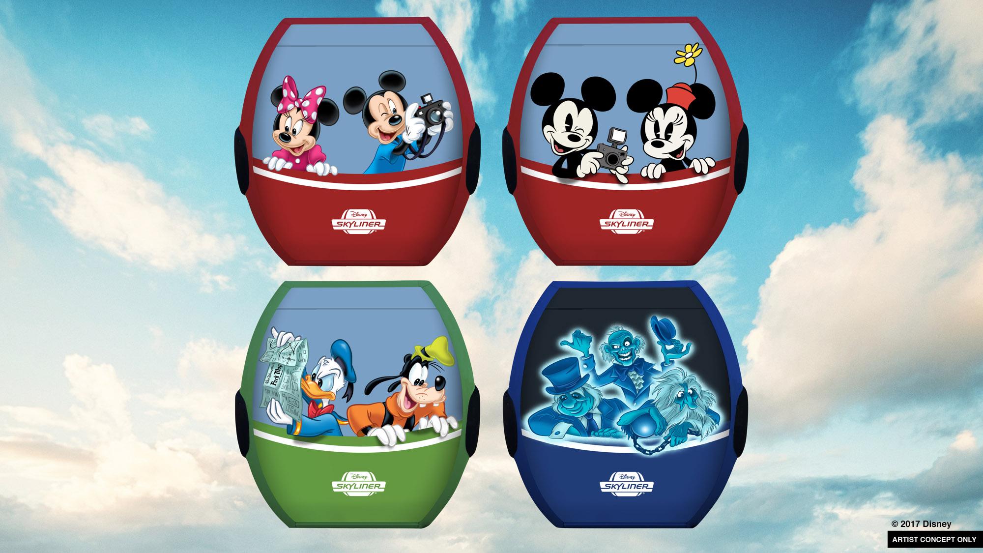 Disney Skyliner, New Minnie Vehicles to Transport Guests Around Walt Disney World Resort