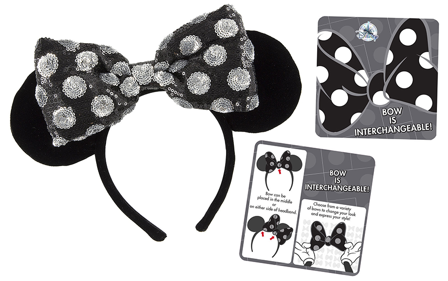 Glam Up Your Disney Style With The Disney Interchangeable Bow Collection