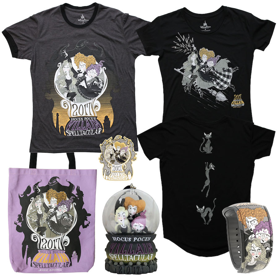 'Spelltacular' Merchandise Coming to Mickey's Not-So-Scary Halloween Party 2017 at Magic Kingdom Park