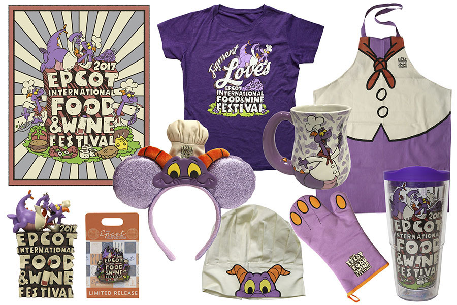 Epcot's Heritage Inspires New Merchandise for 22nd International Food & Wine Festival