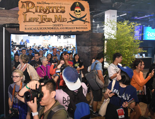 A Look Inside the 'A Pirates Life for Me: Disney's Rascals, Scoundrels, Really Bad Eggs' Exhibit at the D23 Expo