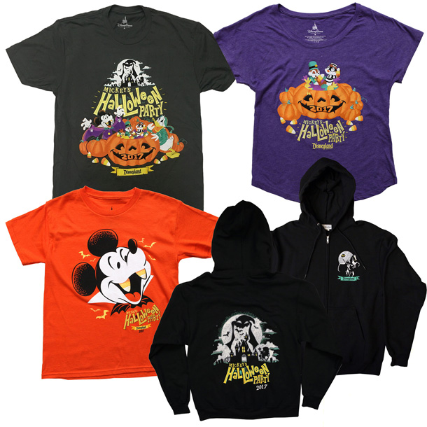 Colorful Commemorative Products Coming to Mickey's Halloween Party 2017 at Disneyland Park