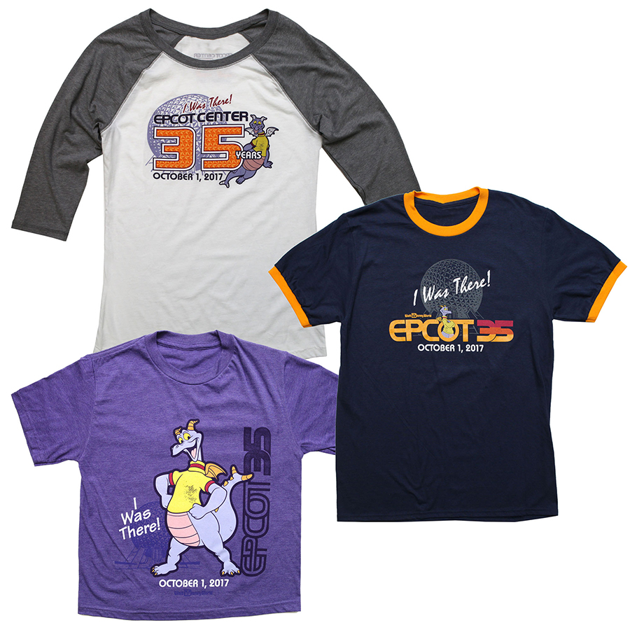 """Celebrate 35th Anniversary of Epcot with """"I Was There"""" Collection on October 1"""