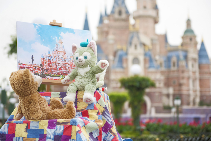 Shanghai Disney Resort Celebrates the Arrival of Duffy's Feline Friend Gelatoni