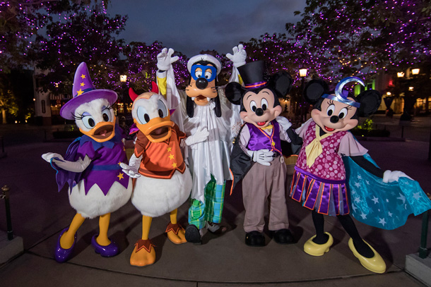 It's Friday the 13th and Halloween Time Fun is Here at the Disneyland Resort
