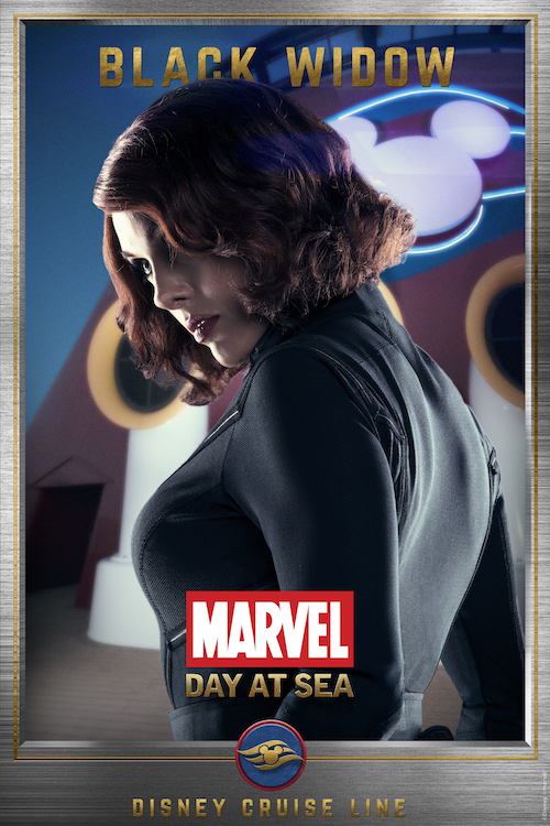Meet the Super Heroes of Marvel Day at Sea: Black Widow