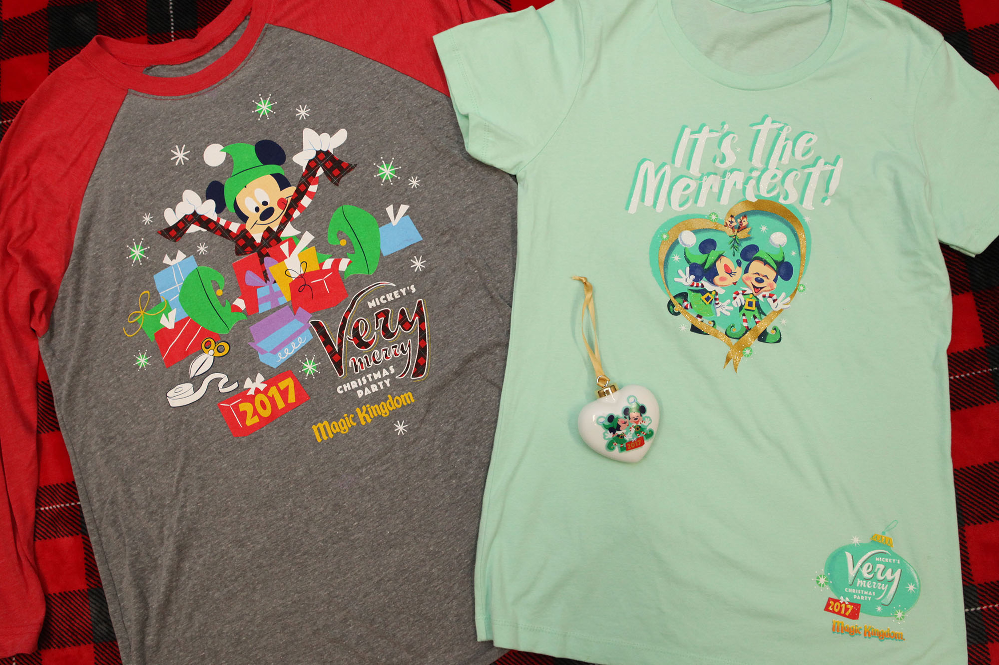 Mickey's Very Merry Christmas Party 2017 Inspires Festive Merchandise at Magic Kingdom Park