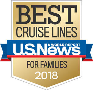 Disney Cruise Line Sails Away with Two Gold Badges from U.S. News & World Report