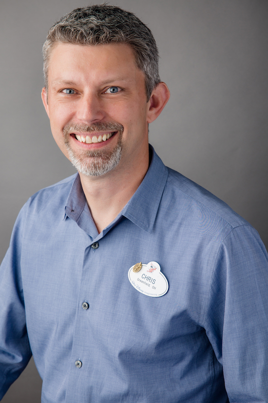 Chris Beatty, Executive Creative Director at Walt Disney Imagineering