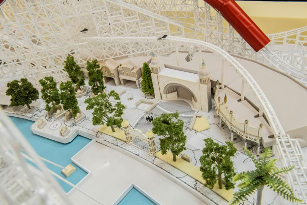 12 Days of Disney Parks Christmas: Working Model of Pixar Pier Shows Newly Themed Areas Coming Summer 2018 to Disney California Adventure Park