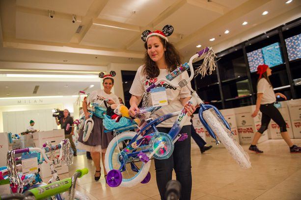 Walt Disney World Cast Members Go To Infinity and Beyond for Toys for Tots