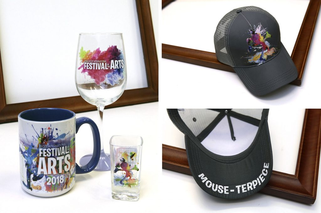 "Creating a Merchandise ""Mouse-terpiece"" for 2018 Epcot International Festival of the Arts"