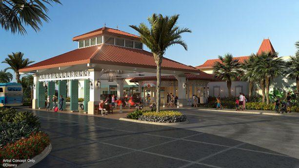 12 Days of Disney Parks Christmas: Transformation Details Revealed for Disney's Caribbean Beach Resort