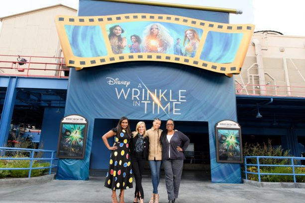 Stars of Disney's 'A Wrinkle in Time' Surprise Disneyland Resort Guests