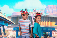 Disney Springs PhotoPass Studio - Cars Backdrop