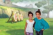 Disney Springs PhotoPass Studio - Brave Backdrop