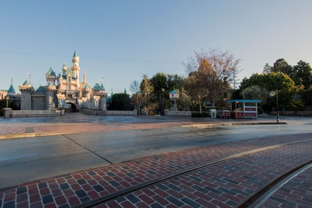First Look: New Brickwork Revealed on Main Street, U.S.A., at Disneyland Park