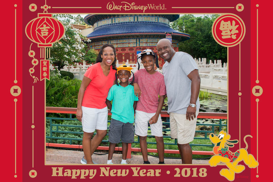 Ring in Lunar New Year with Disney PhotoPass Service at Epcot on Feb. 16