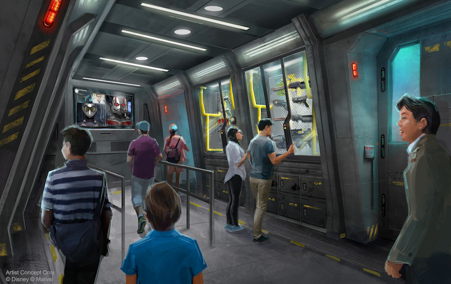 New Renderings of Marvel Attraction Coming to Hong Kong Disneyland Revealed at D23 Expo Japan 2018