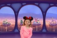 Disney Springs PhotoPass Studio - Inside Out Backdrop