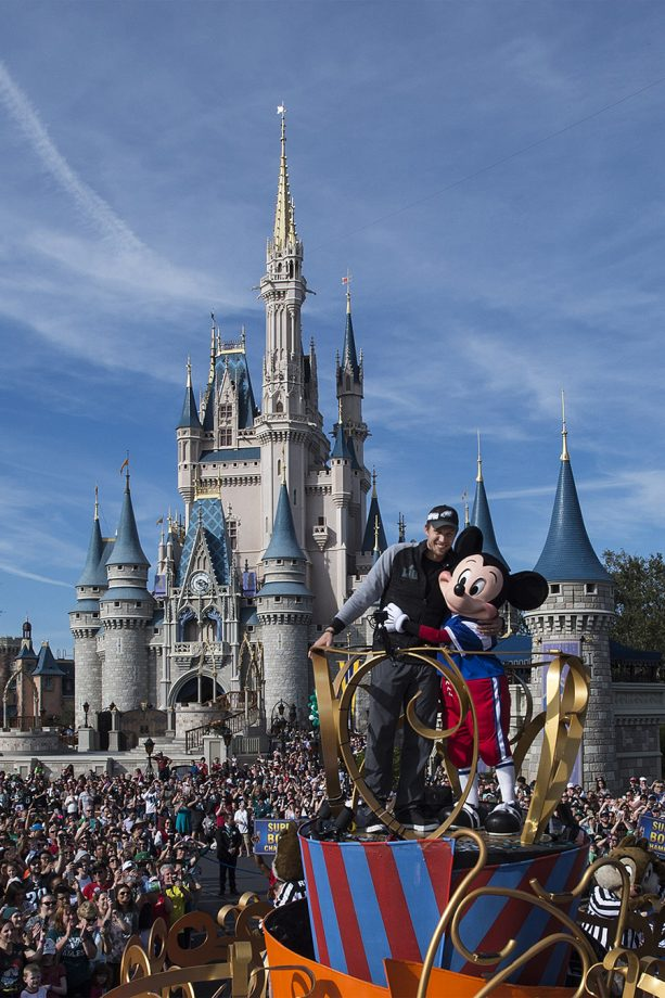 Philadelphia Eagles Star Quarterback Nick Foles Celebrates Super Bowl Title at Walt Disney World Resort