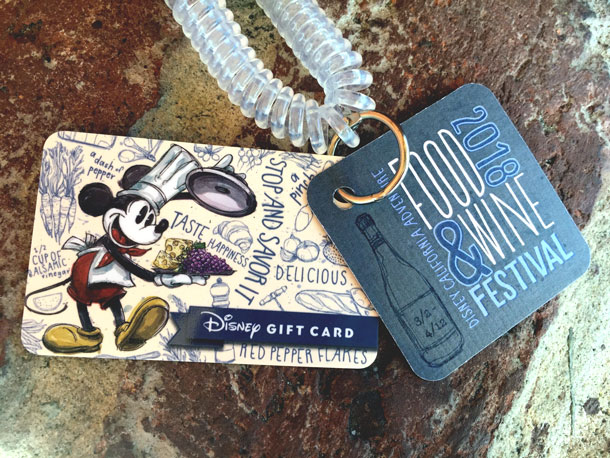 Coast to Coast, Disney Gift Card is Designed for Festivals!