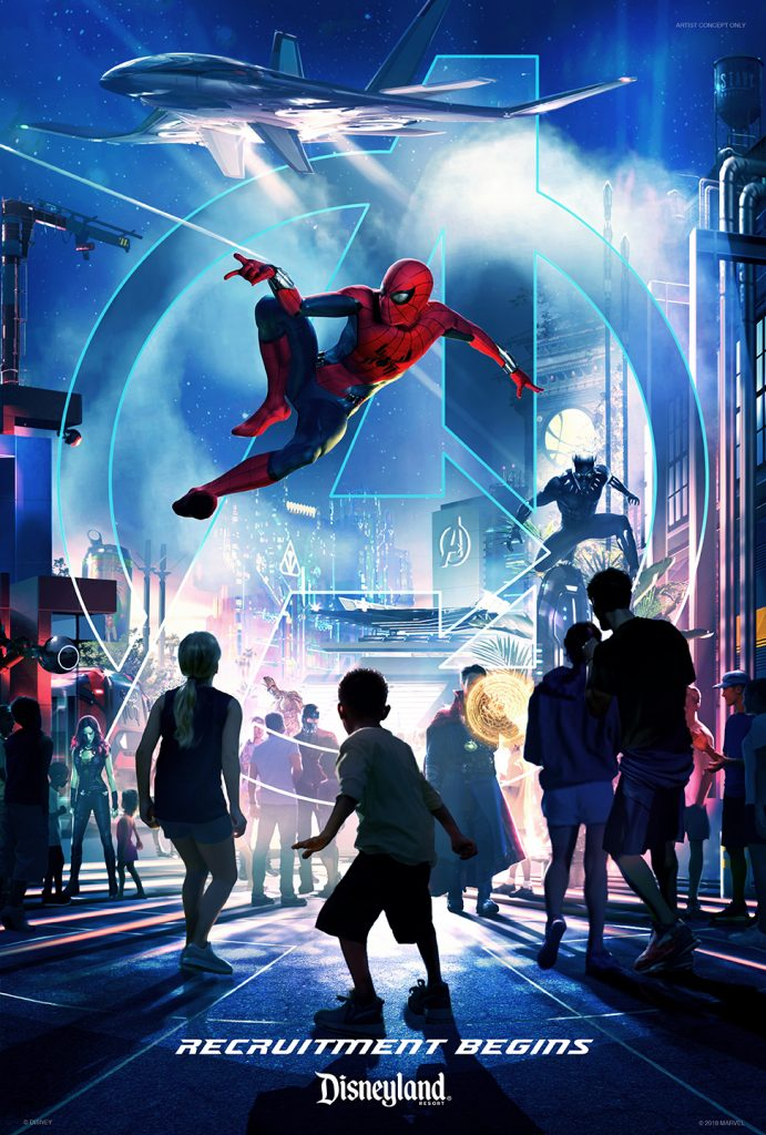Avengers and Other Super Heroes to Assemble in New Themed Areas at Disneyland Resort, Disneyland Paris and Hong Kong Disneyland