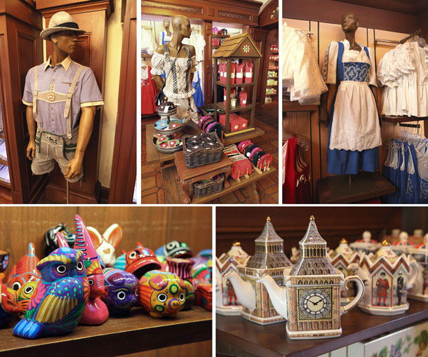 Shop the World in a Day – How Merchandise Cast Create Tangible Memories for World Showcase at Epcot