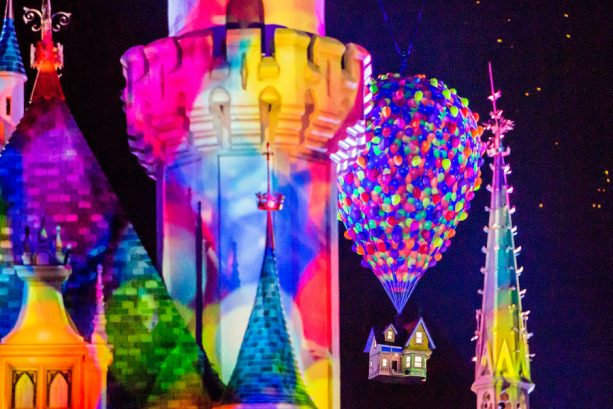 First Look: 'Together Forever – A Pixar Nighttime Spectacular' Coming to Disneyland Park April 13 with Pixar Fest