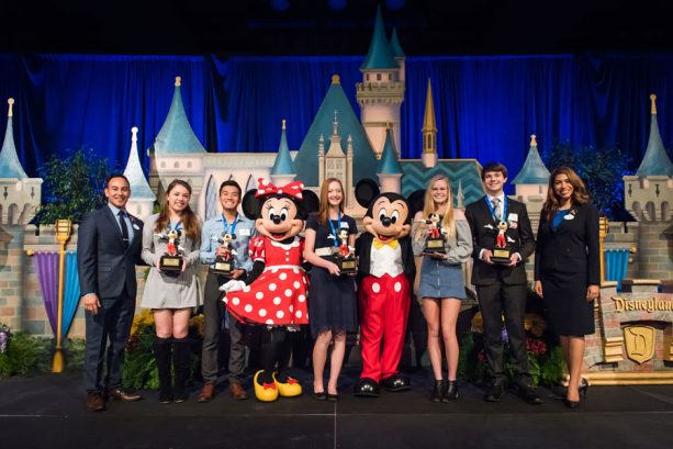 Disneyland Resort Honors High School Students for Positive Community Outreach, Names Luminaries and Shining Stars