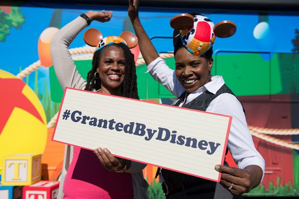 Disney Goes To Infinity & Beyond to Surprise Disney Grant Recipients With $500,000