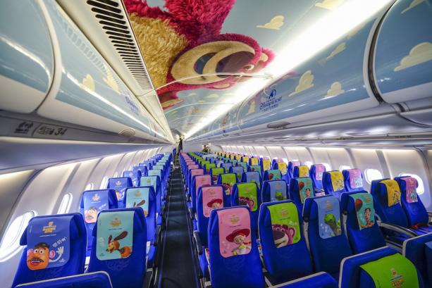 Now Boarding: This Plane Themed to Shanghai Disneyland's Disney·Pixar Toy Story Land