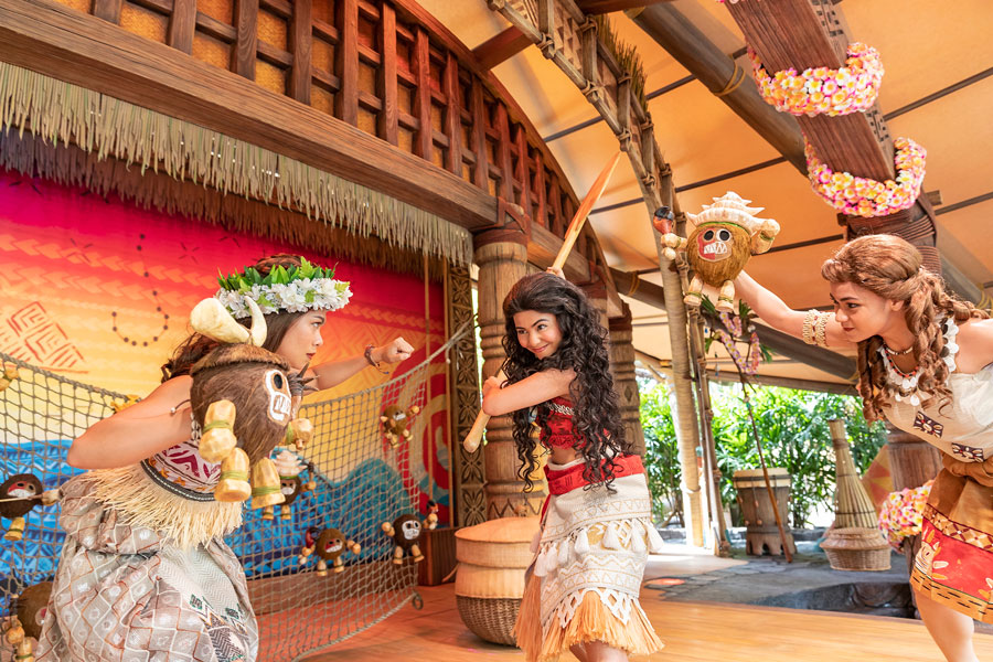 'Moana: A Homecoming Celebration' Atmosphere Stage Show Now Open at Hong Kong Disneyland