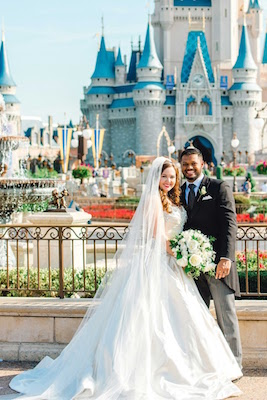 Couple Celebrates 'Happily Ever After' With Their Own Royal Disney Wedding