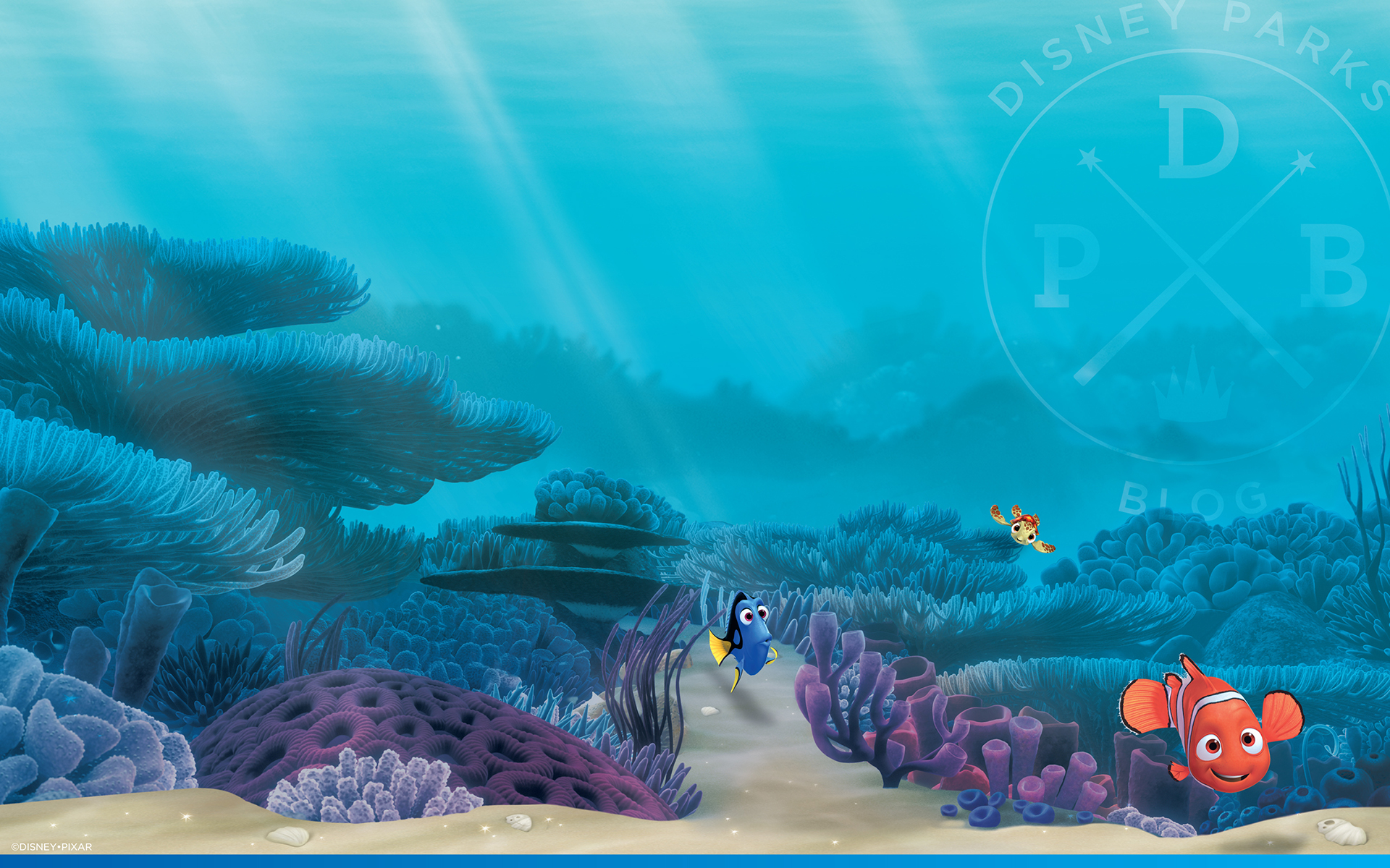 Celebrate the 15th Anniversary of 'Finding Nemo' with This Wallpaper