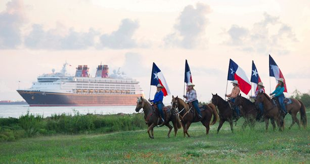 Disney Cruise Line from Galveston Texas