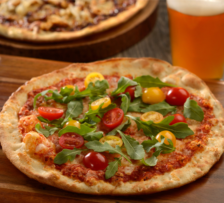 Tomato and Cheese Please Artisanal Pizza at Everything POP Shopping & Dining at Disney's Pop Century Resort