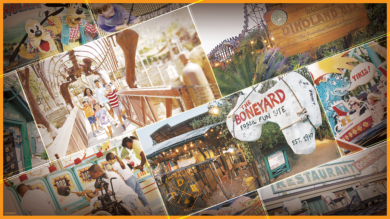 Celebrate the Fun of Dinoland, U.S.A., with our Latest Wallpaper