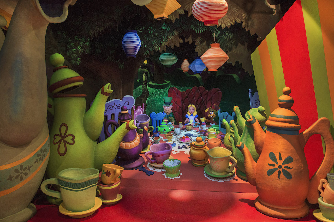 Alice in Wonderland at Disneyland Park