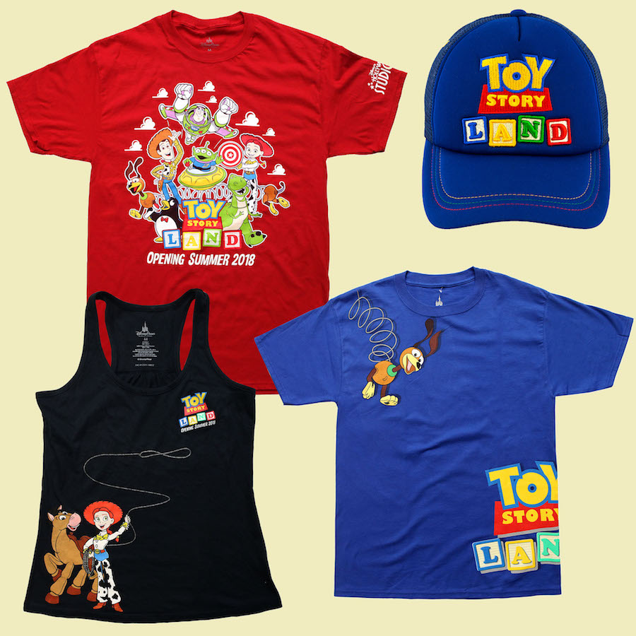 New Merchandise Extends the Story of Toy Story Land This Summer at Disney's Hollywood Studios