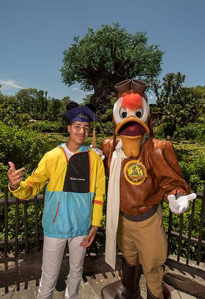 Star of ABC's 'black-ish' Celebrates Big Milestone at Walt Disney World Resort
