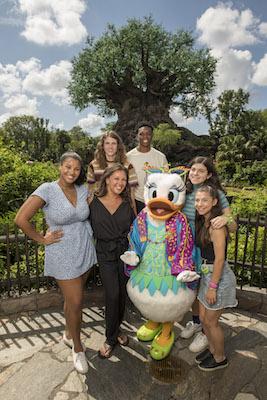 Actress Vanessa Williams and Family Visit Disney's Animal Kingdom