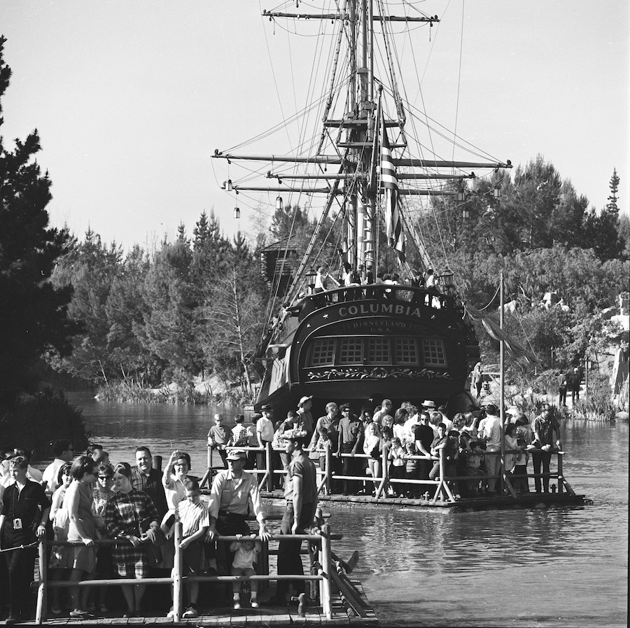 Today in Disney History: Sailing Ship Columbia Opens at Disneyland Park