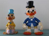 Walt Disney Scrooge McDuck ledra dolls