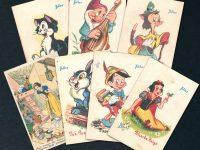 Walt Disney Tobler Postcards