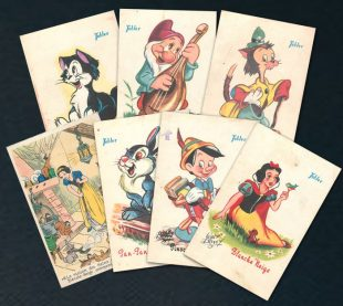 Walt Disney Tobler Postcards