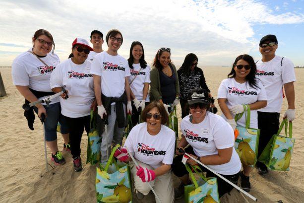 Disney VoluntEARS Beach Cleanup